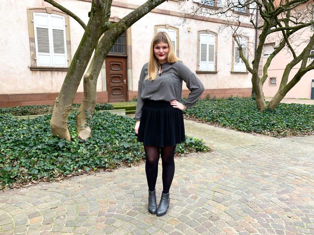 Blouse Petites Choses - Atelier Scämmit - look