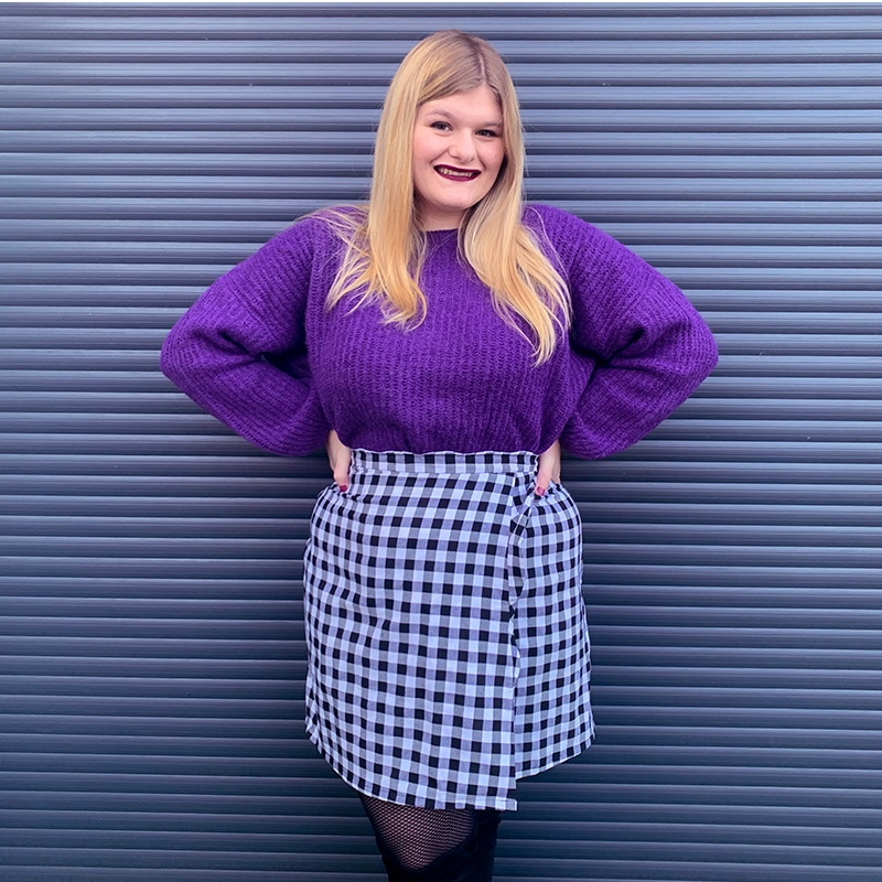 Ma jupe sur-mesure Atelier Charlotte Auzou