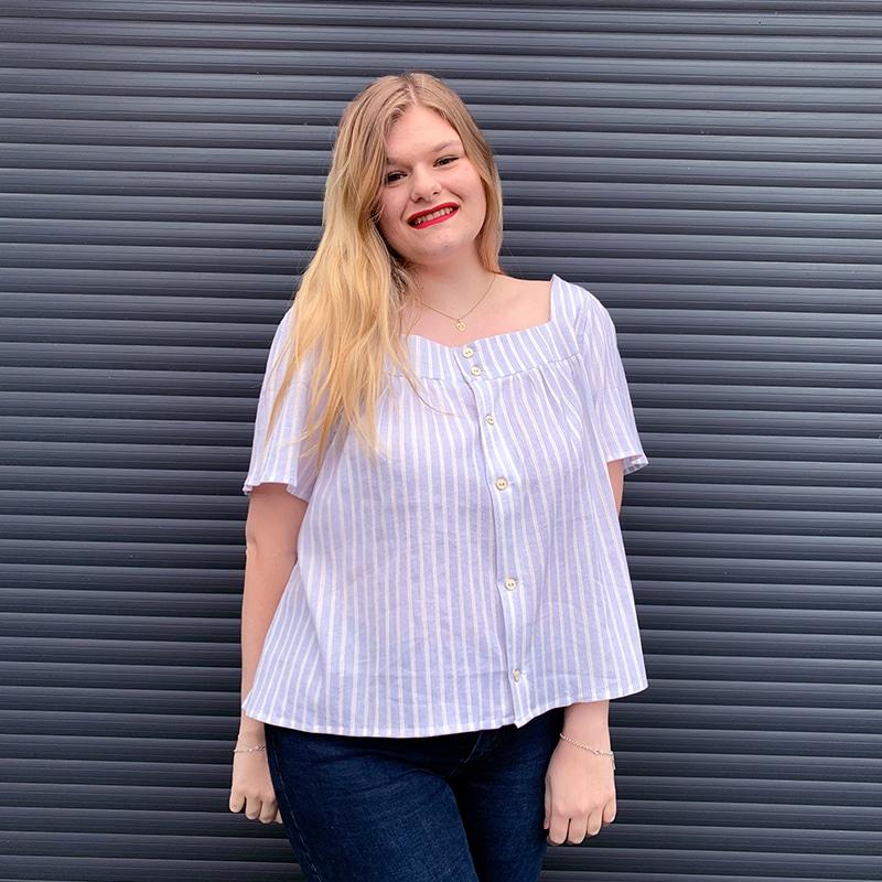 Ma blouse Danna de Fibremood